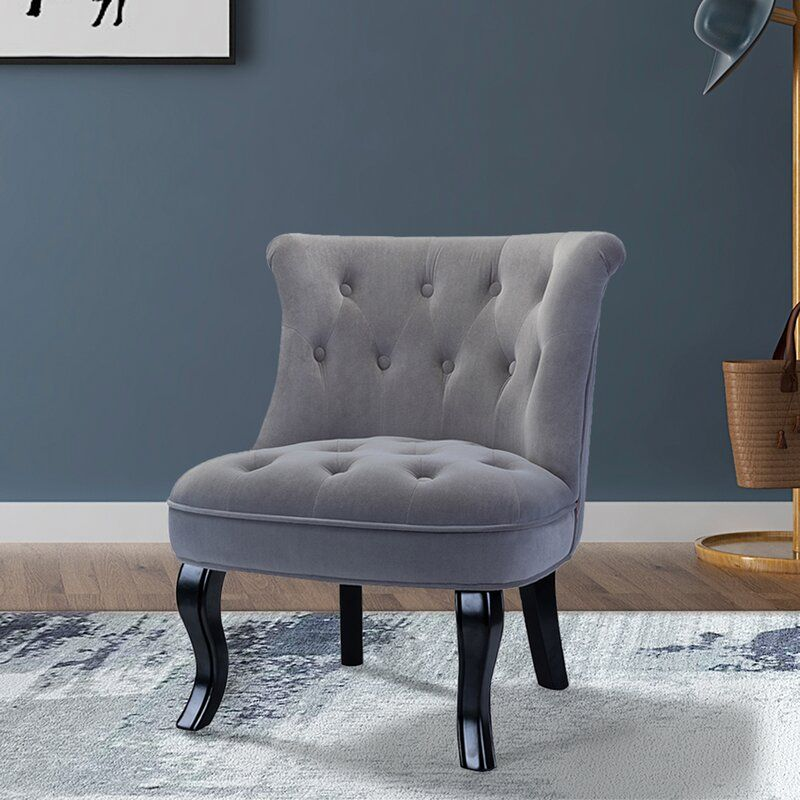 Haleigh Tufted Wingback Chair