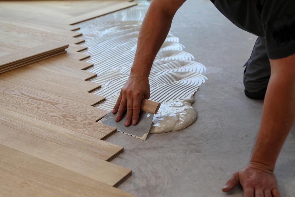 Hardwood floor Installation Technique