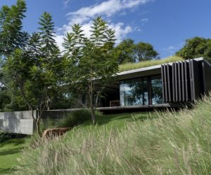 A Square Concrete House In Paraguay Overlooks The Beautiful Horizon