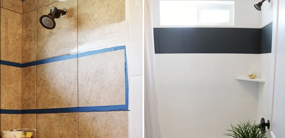 can tile be painted