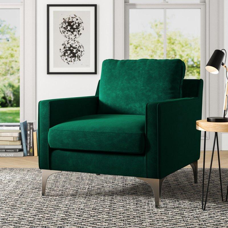 Jacey Velvet Armchair