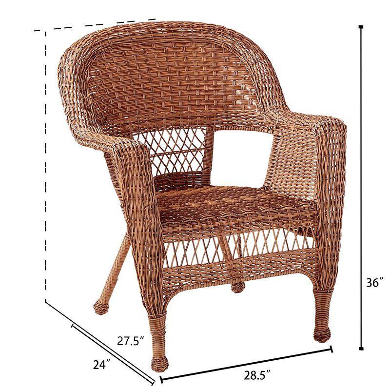 Karan and Wicker Lane Oversized Patio Chair