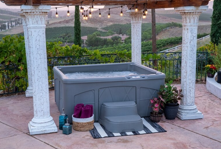 plug and play hot tubs for sale