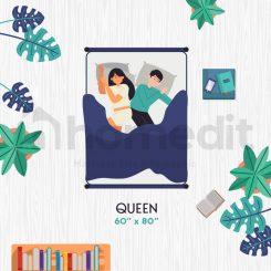 Mattress Size Infographic Queen