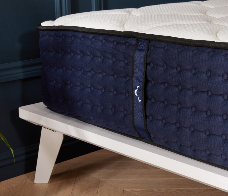 Mattress on platform bed