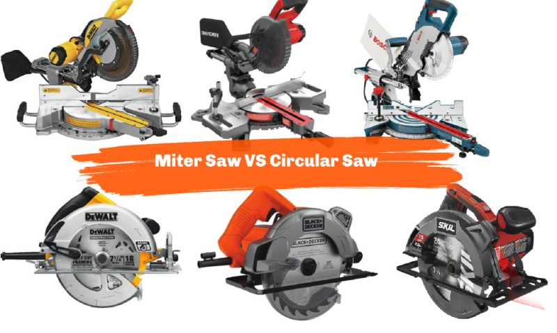 Miter Saw VS Circular Saw: Which is Better?