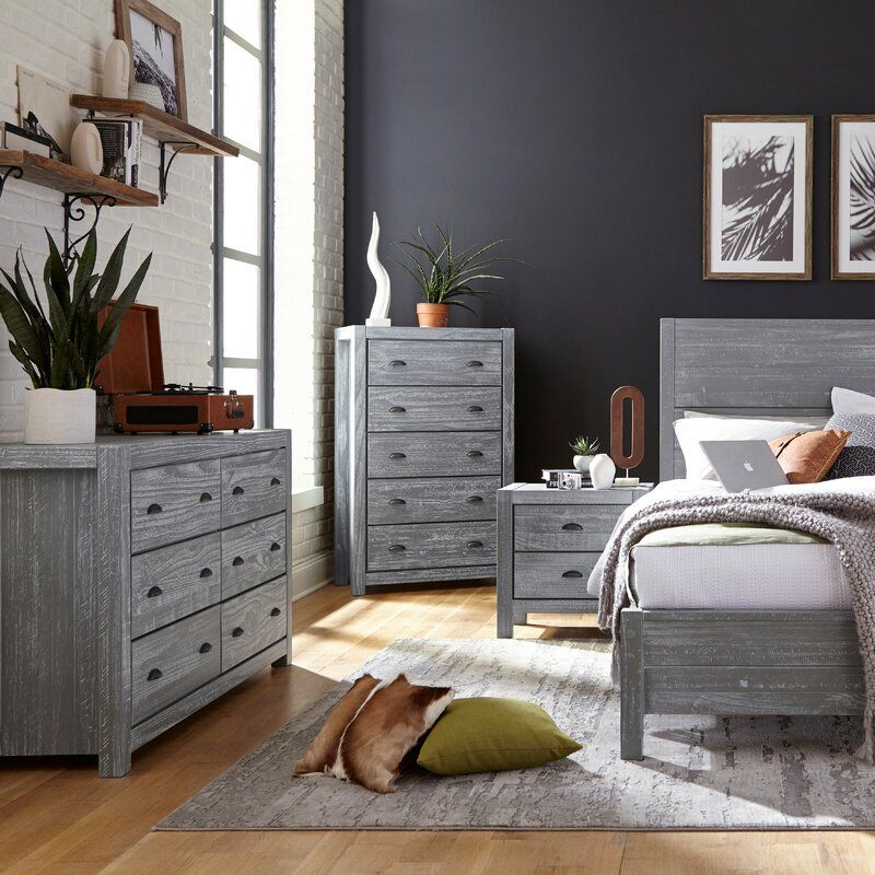 10 Inspirational Gray Bedroom Furniture Ideas From Atmospheric Dark To Light Pastel
