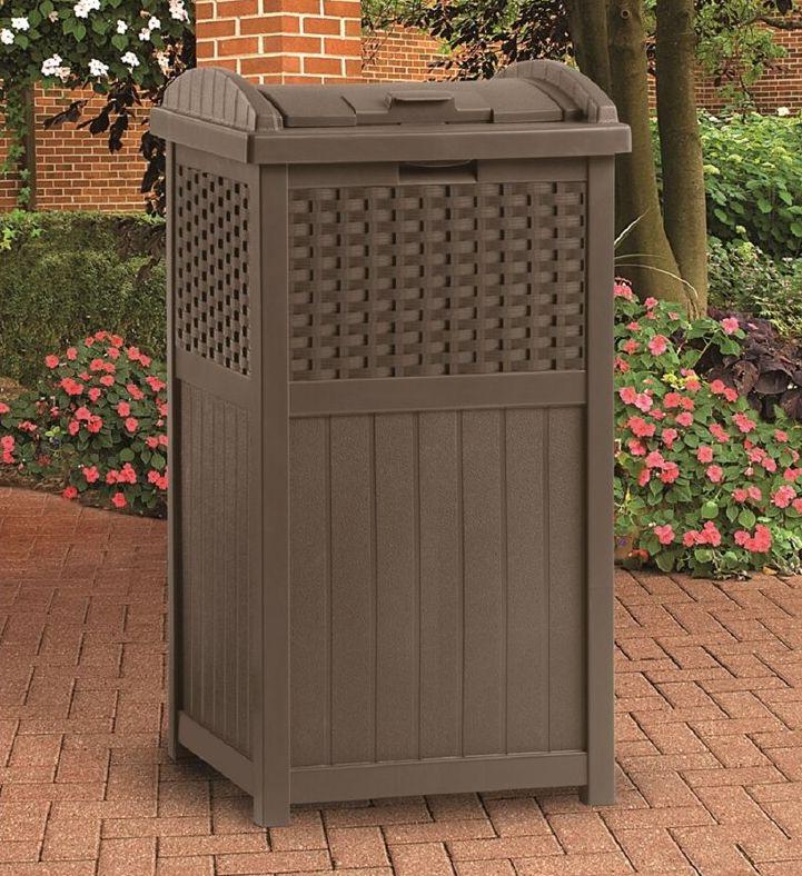 Patio 33 Gallon Curbside Trash & Recycling Bin