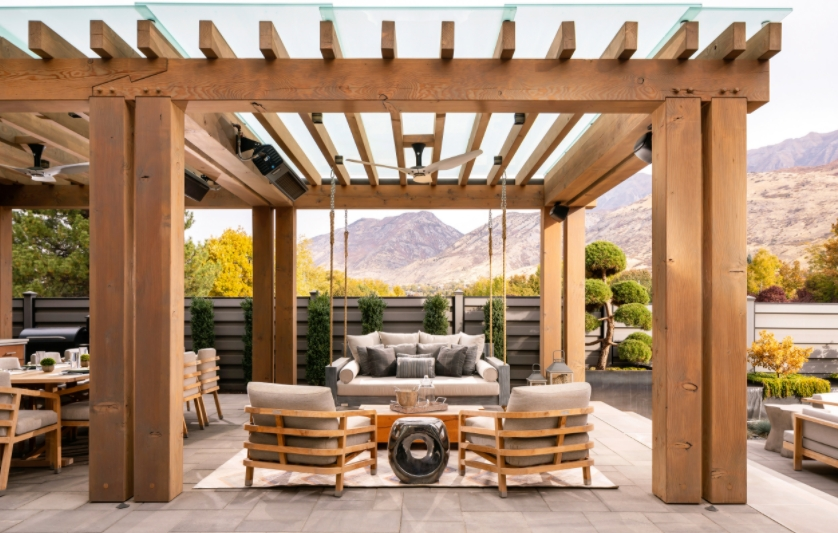Pergola Daybed outdoor