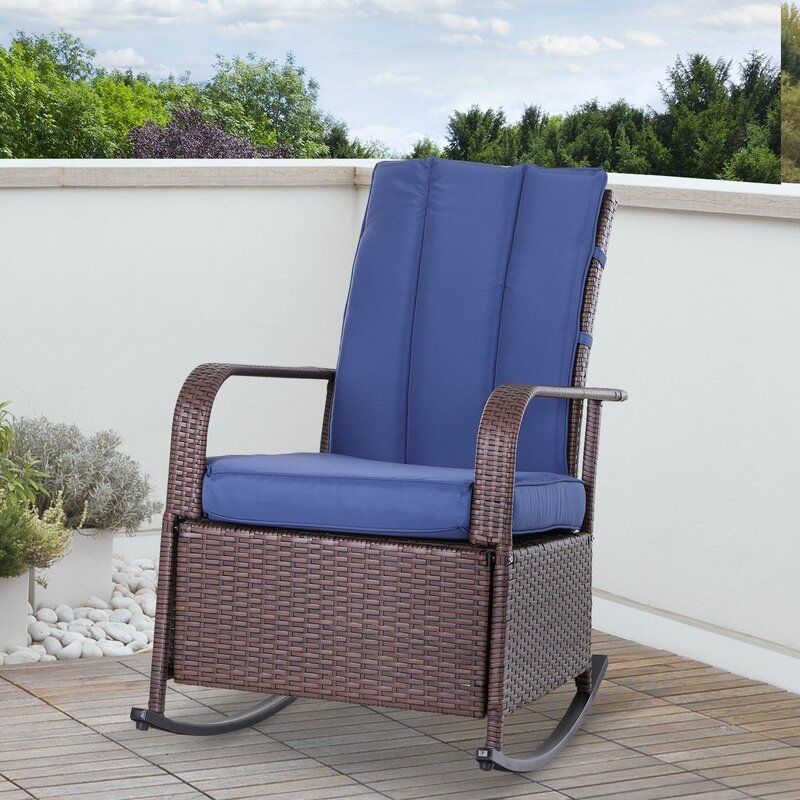 Philadelphia Recliner Patio Chair with Cushions