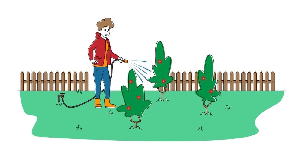 Quick Connect Garden Hose