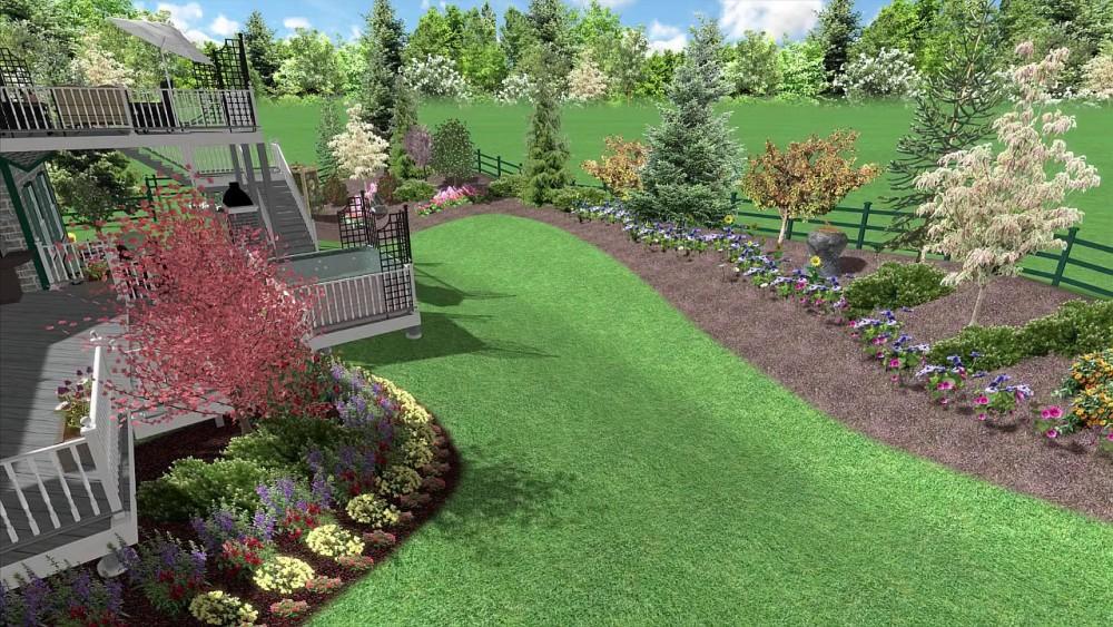 Realtime landscape design software