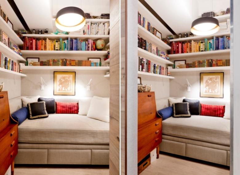 Secret reading corner