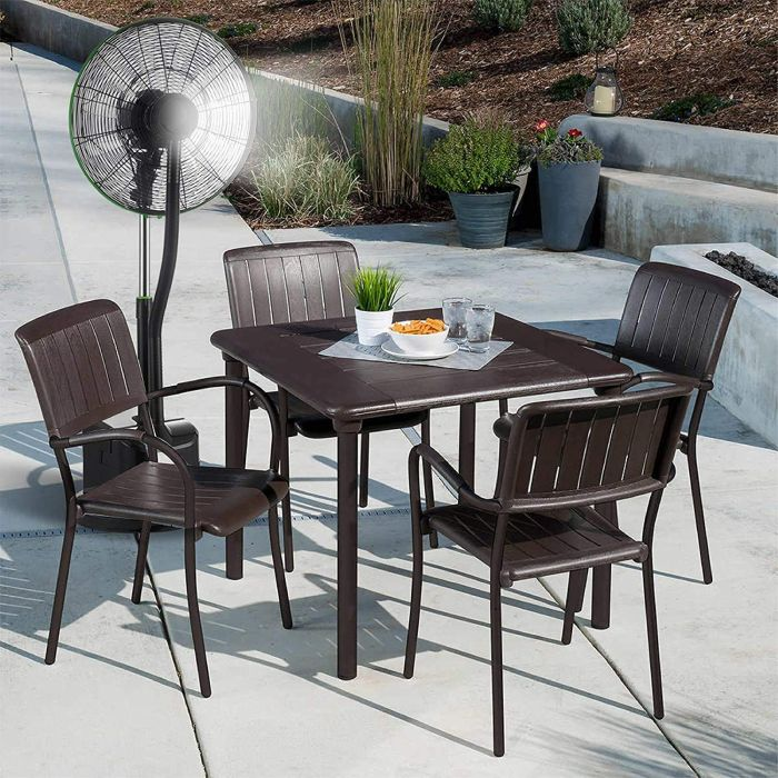 Simple Deluxe 18 Inch Misting Fan for Patio