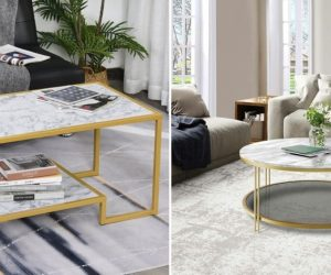 Gorgeous Stone Coffee Table Ideas for Your Home