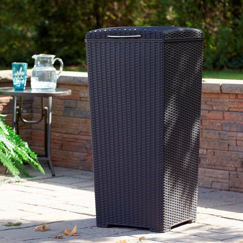 Sunterrace 30-Gal Pacific Outdoor Waste Basket