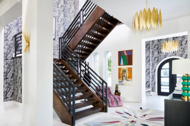 Staircase Wallpaper Ideas And How to Apply Them