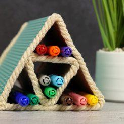 colored pencil organizer