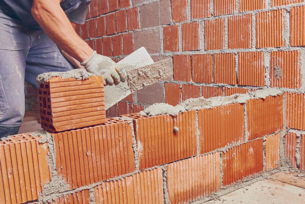 Tuckpointing In Bricklaying