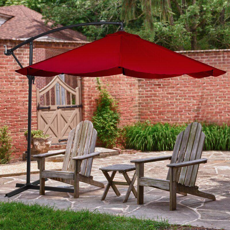 Patio Vassalboro 10' Cantilever Umbrella