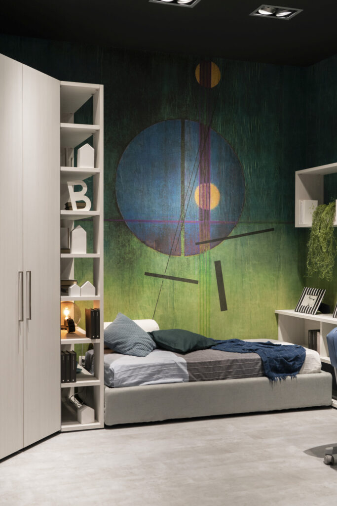 Accent wallpaper design