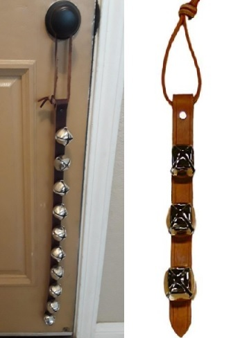 Warner Arctic Sleigh Bells Decorative Leather