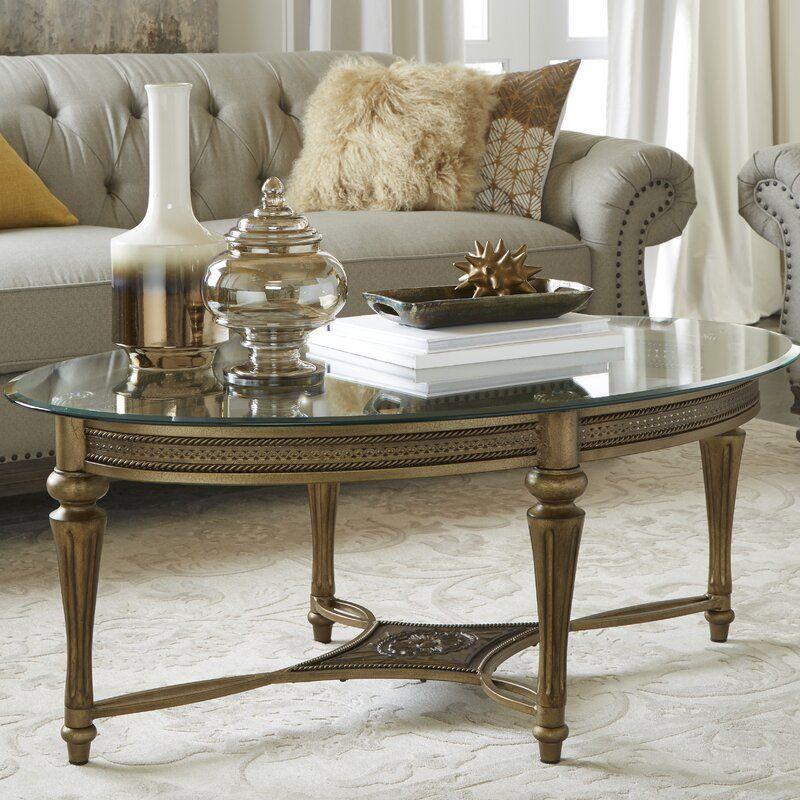 Oval Weisman Coffee Table