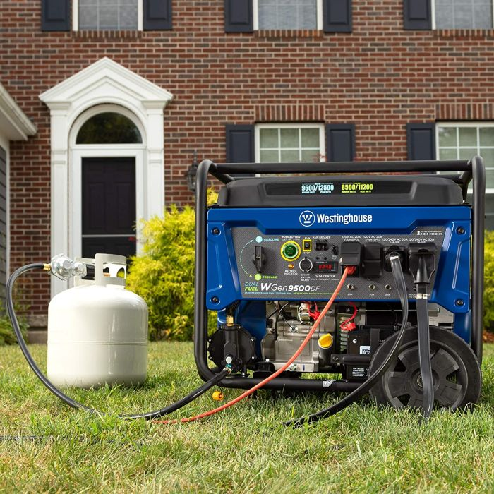 Westinghouse Dual Fuel Portable Generator