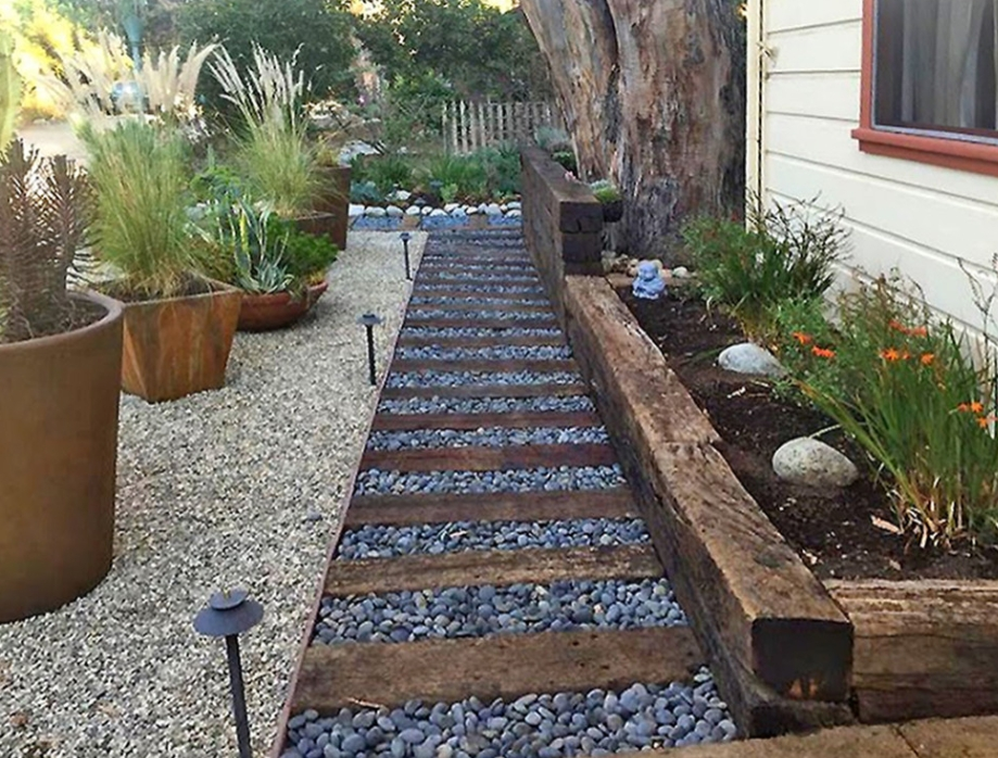 What Is A Railroad Tie Retaining Wall
