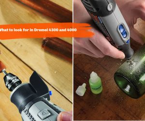 DREMEL 4300 VS DREMEL 4000  - 哪一个更适合您即将到来的DIY项目