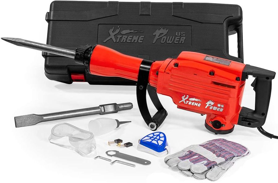 XtremepowerUS 2200Watt Heavy Duty Electric Demolition Jackhammer
