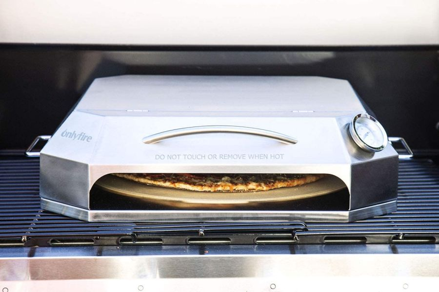 only fire Universal Stainless Steel Pizza Oven