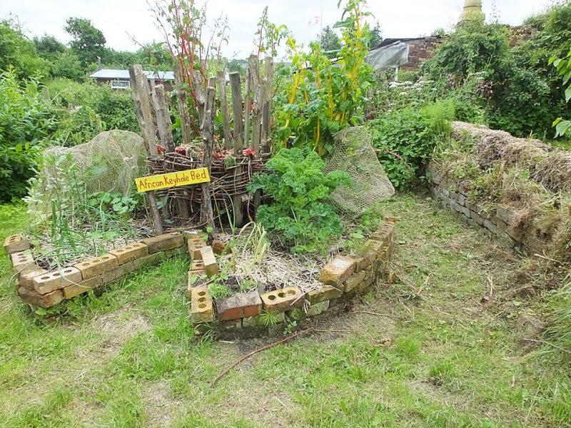 Keyhole Garden: The Phenomenal African Compost Garden