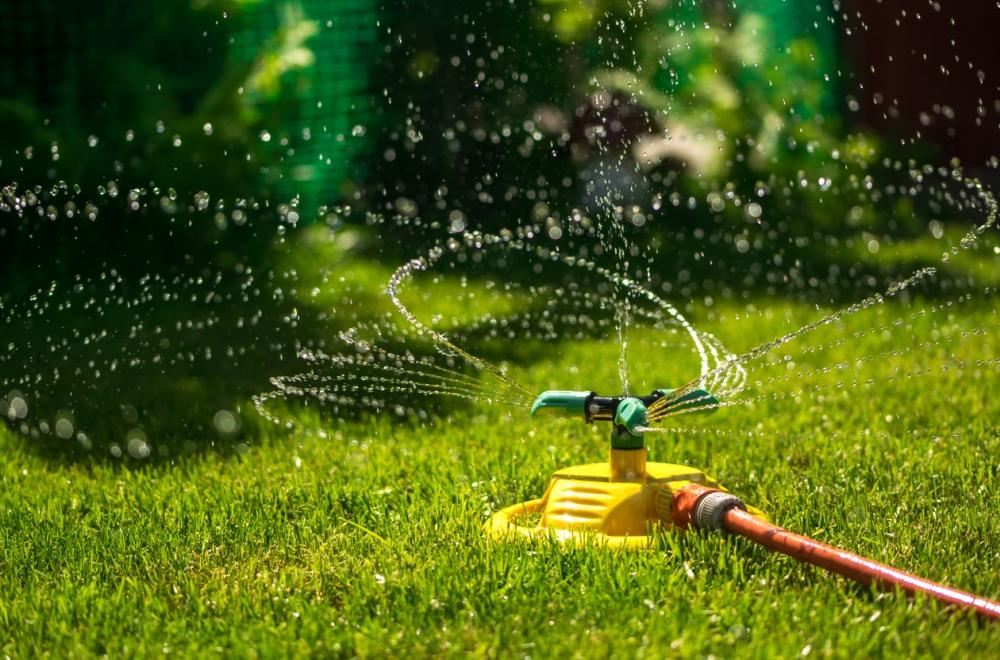 Above Ground Sprinkler