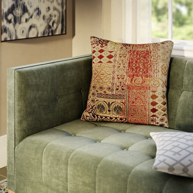 Akiva Square Pillow Cover & Insert
