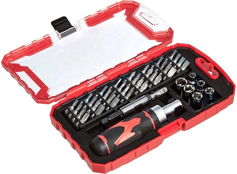 Amazon Basics Ratcheting screwdriver set