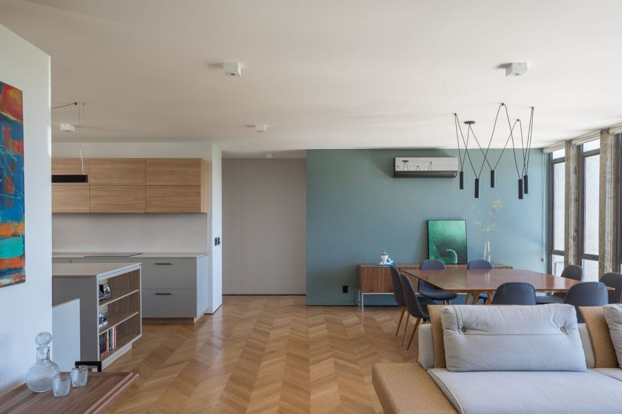 A big focus throughout the design process was on functionality, hence the simplicity of the decor