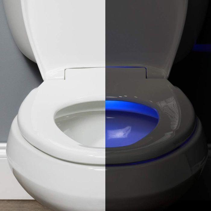 BEMIS Radiance Heated Night Light Toilet Seat
