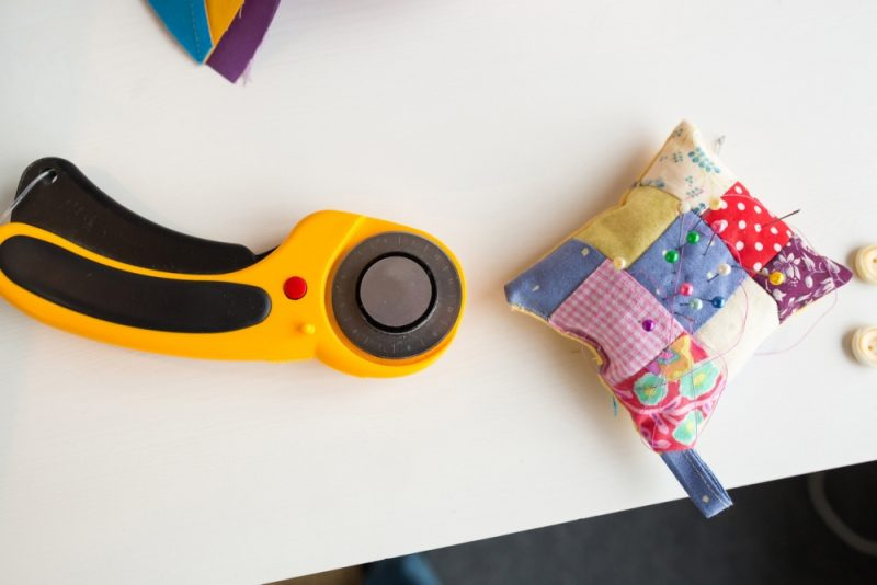 Get a Rotary Cutter to Make Those Sewing Projects Easier