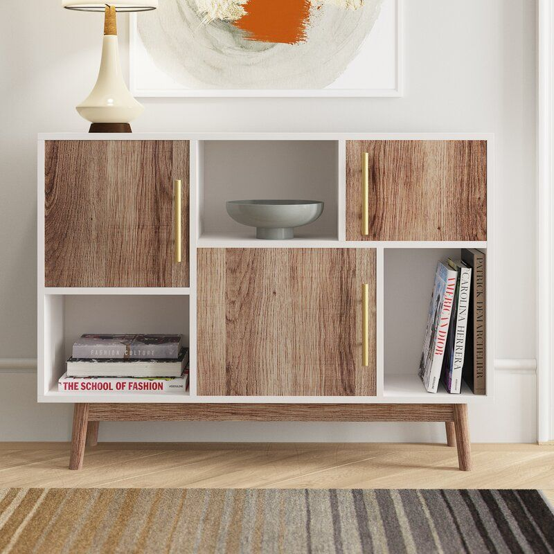 Carlson 3 Door Apothecary Accent Cabinet