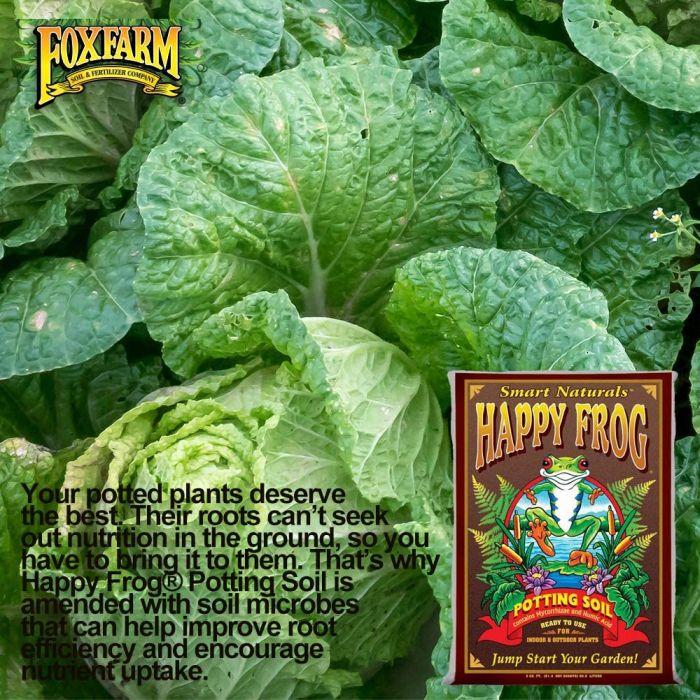 Fox Farm Happy Frog Organic Potting Soil Mix