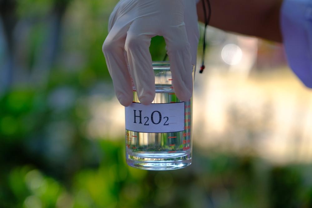 hydrogen peroxide cleaner