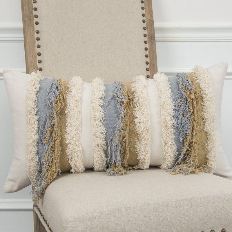 Heckson Cotton Lumbar Pillow