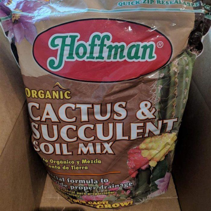 Best for tropical perennials - Hoffman 10404 Organic Cactus and Succulent Soil