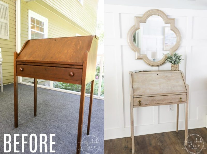 How To Use Wood Bleach To Lighten Wood