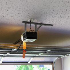 How to install a garage door with motor