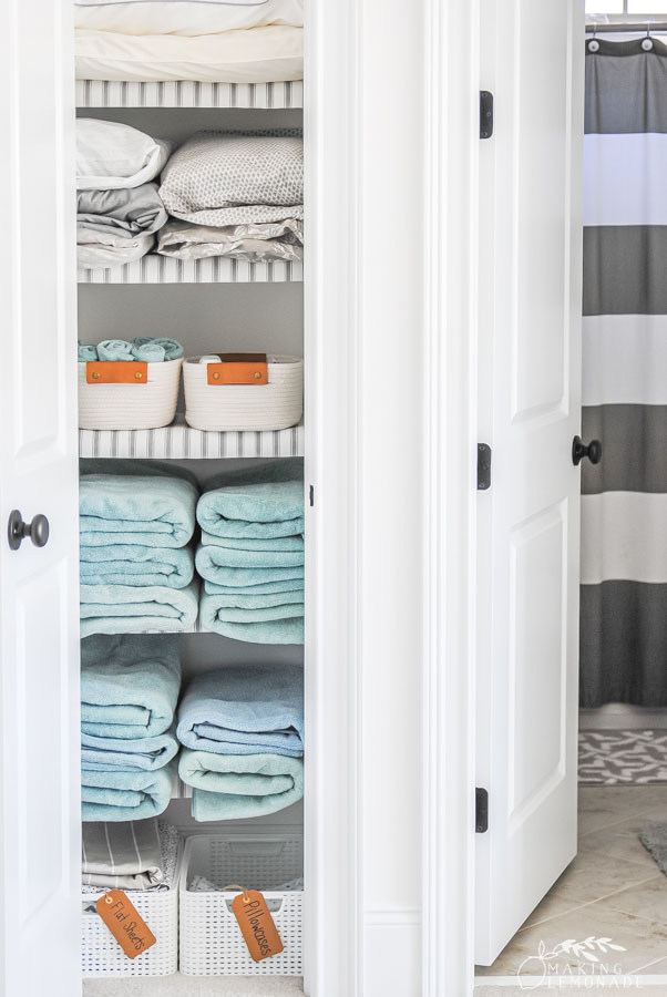 How to organize your linen closet in 5 steps