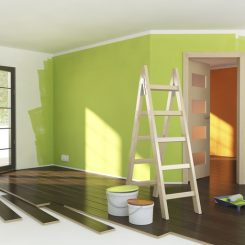 paint trim or walls first