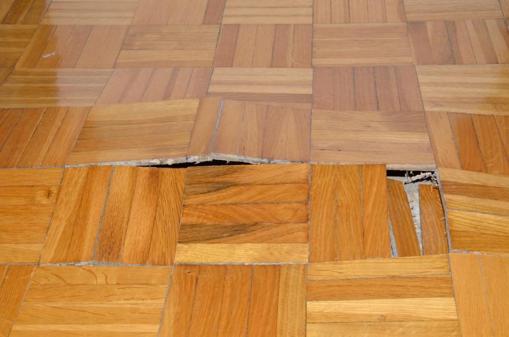Repairing Hardwood Floor By Replacing Damaged Boards