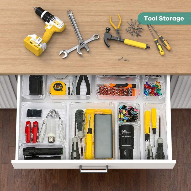 16-piece drawer organizer set